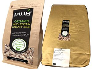 Plum Foods organic wholegrain flour